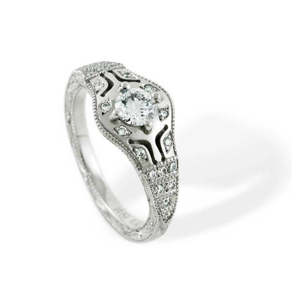 Nue Lyric Diamond Engagement Ring - Era Design Vancouver