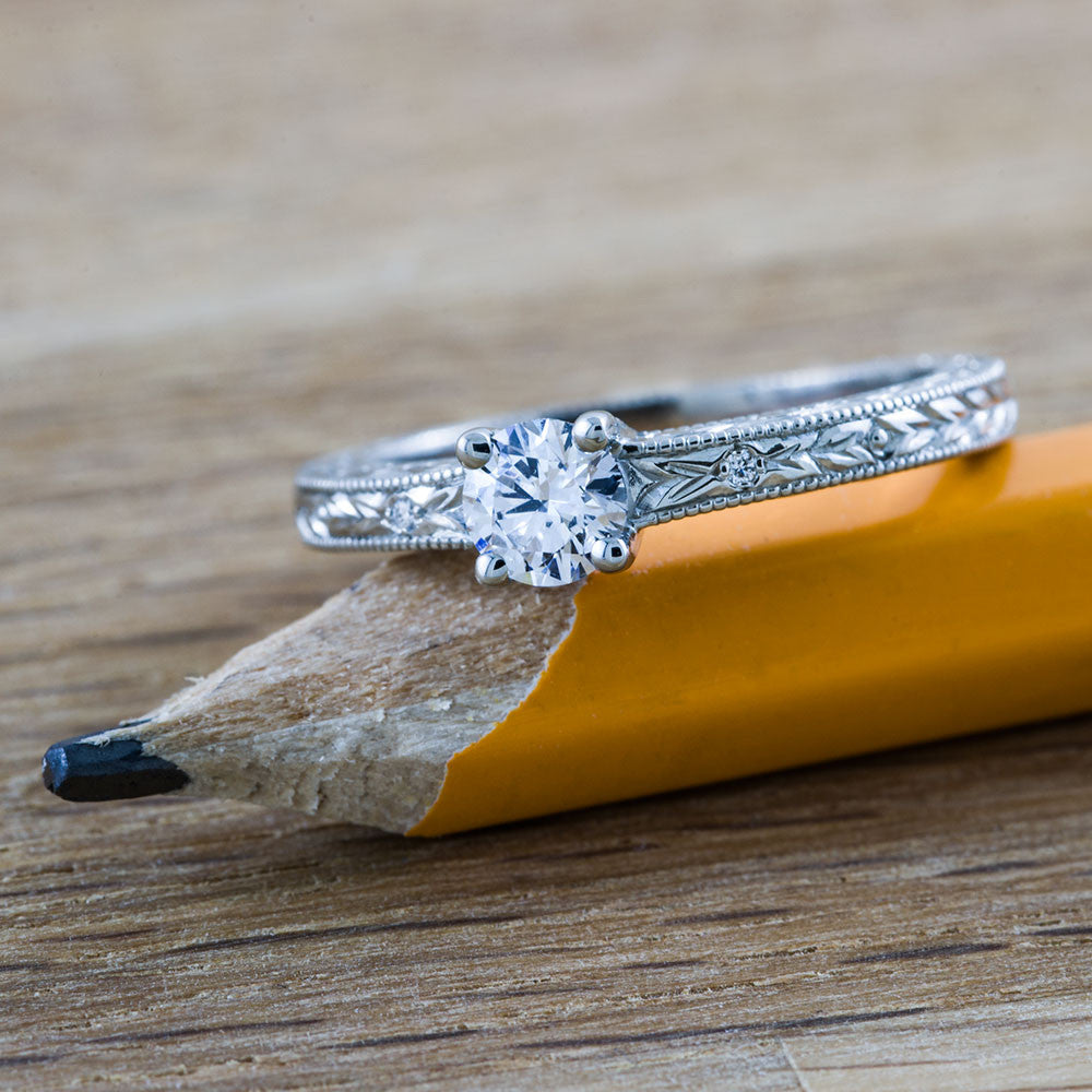 Canadian Diamond Engagement Ring | Era Design Vancouver Canada