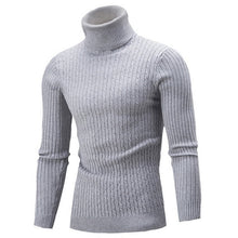 Load image into Gallery viewer, Winter Warm Turtleneck Sweater Men