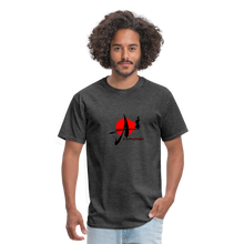 Load image into Gallery viewer, Yasuke Designs T-Shirt - heather black