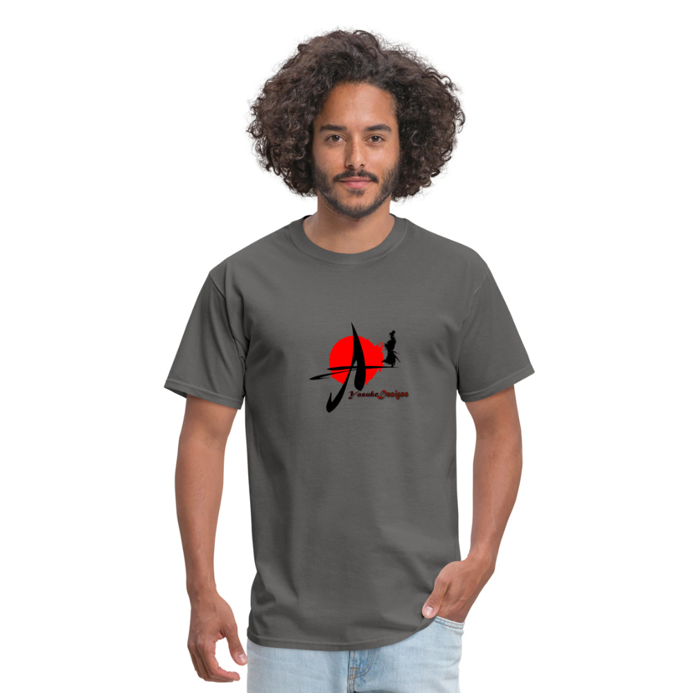 Yasuke Designs T-Shirt - charcoal