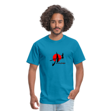 Load image into Gallery viewer, Yasuke Designs T-Shirt - turquoise