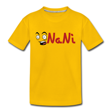 Load image into Gallery viewer, Kids' NaNi Shirt - sun yellow