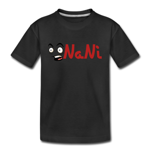 Kids' NaNi Shirt - black