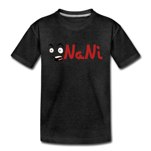 Kids' NaNi Shirt - charcoal gray