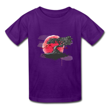Load image into Gallery viewer, Kids' YT Tree T-Shirt - purple