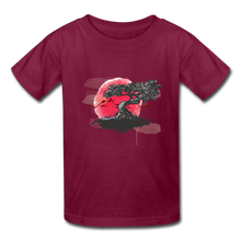Load image into Gallery viewer, Kids' YT Tree T-Shirt - burgundy