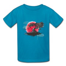 Load image into Gallery viewer, Kids' YT Tree T-Shirt - turquoise