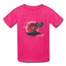 Load image into Gallery viewer, Kids' YT Tree T-Shirt - fuchsia