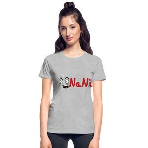 Women's Nani T-shirt - heather gray