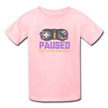 Load image into Gallery viewer, Kids' Paused the game T-Shirt - pink