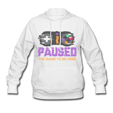 Load image into Gallery viewer, Women's Game Hoodie - white