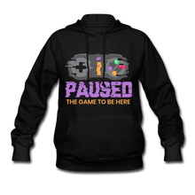 Load image into Gallery viewer, Women's Game Hoodie - black