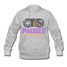 Load image into Gallery viewer, Women's Game Hoodie - heather gray