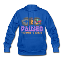 Load image into Gallery viewer, Women's Game Hoodie - royal blue