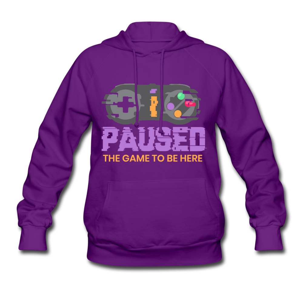 Women's Game Hoodie - purple