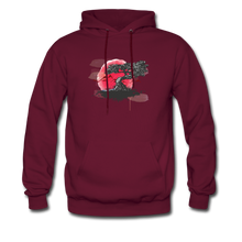 Load image into Gallery viewer, YD Tree Men's Hoodie - burgundy