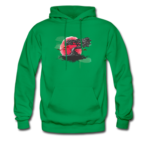 YD Tree Men's Hoodie - kelly green