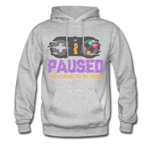 Load image into Gallery viewer, YD Game Hoodie - heather gray