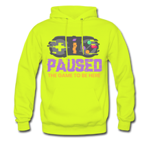 Load image into Gallery viewer, YD Game Hoodie - safety green