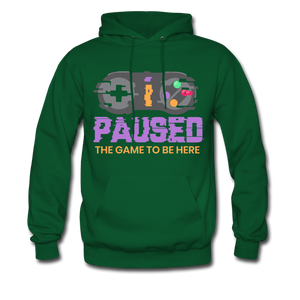 YD Game Hoodie - forest green