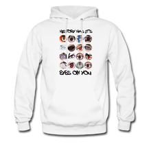 Load image into Gallery viewer, YD Eyes' Men's Hoodie - white