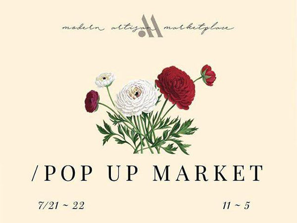 July 21-22: Modern Artisan Marketplace Pop-up at Culver City