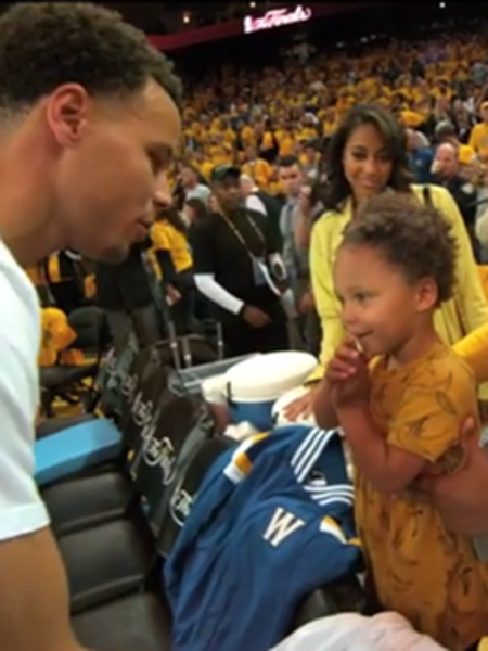 Kira Kids x Riley Curry - June 2015