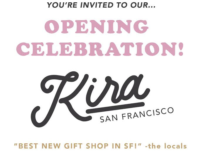 November 18: Kira SF Grand Opening Party at San Francisco