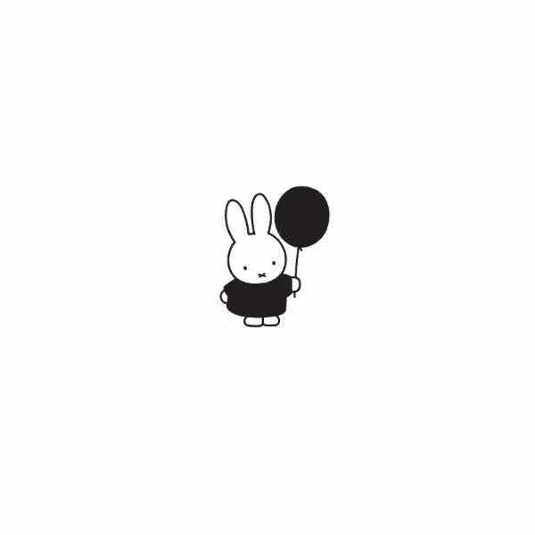 Miffy x Kira Balloon Pin