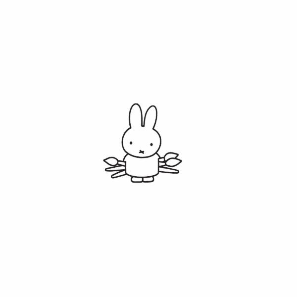 Miffy x Kira Artist Pin