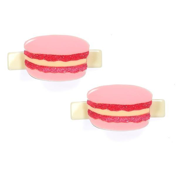 Lilies & Roses NY: Hair Clip, Macaron (Set of 2)