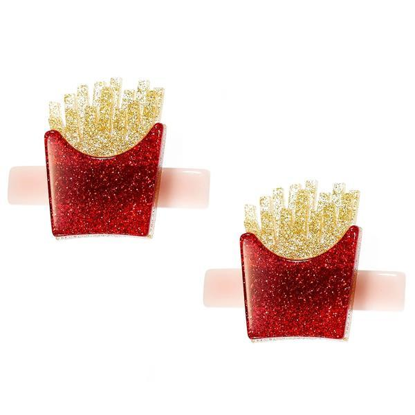 Lilies & Roses NY: Hair Clip, Fries (Set of 2)