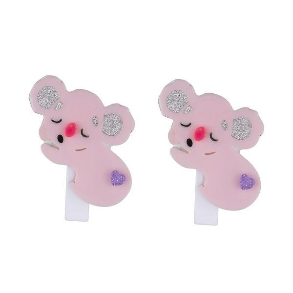 Lilies & Roses NY: Hair Clip, Sleeping Koala (Set of 2)