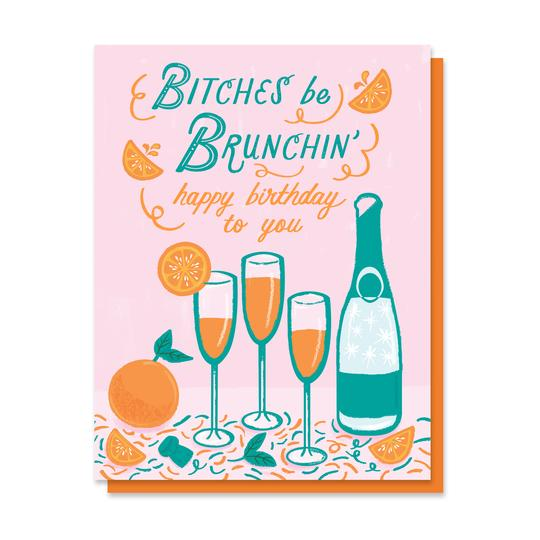 Paper Parasol Press: Brunchin' Card