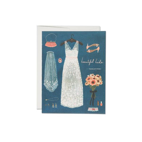Red Cap Cards: Beautiful Bride
