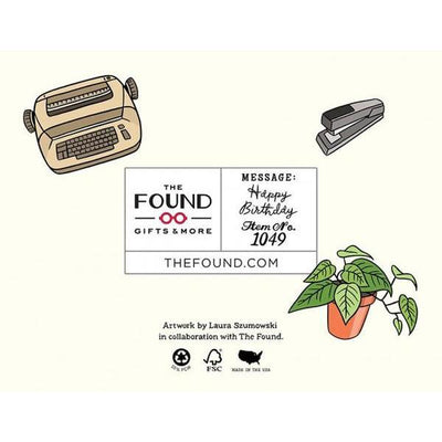 The Found: You're a Full Time Babe Card