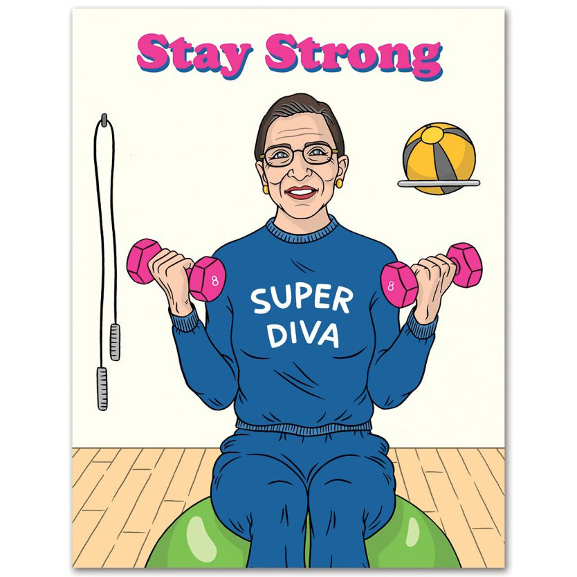 The Found: RBG Stay Strong Card