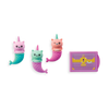 OOLY: Mew-maid Treasure Scented Erasers, Set of 4