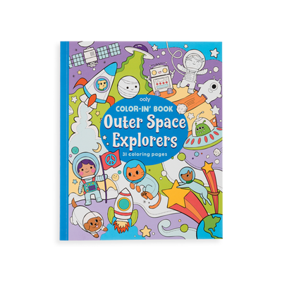 OOLY: Color-in' Book: Outer Space Explorers