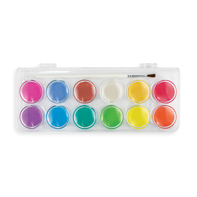 OOLY: Chroma Blends Pearlescent Watercolors - 13 Piece Set