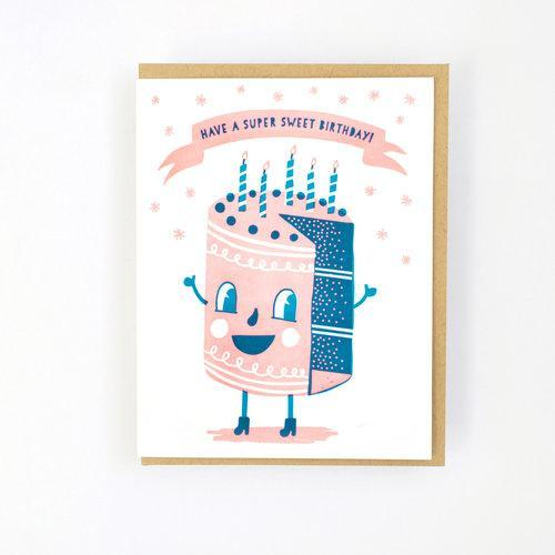 Hello Lucky: Sweet Cakes Birthday Card