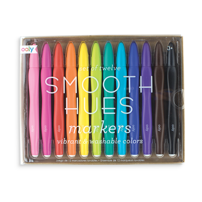 OOLY: Smooth Hues Art Markers