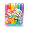 OOLY: Jumbo Juicy Scented Neon Highlighters - Set of 6