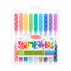 OOLY: Stampables Scented Double-Ended Stamp Markers, Set of 18