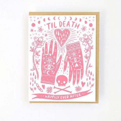 Hello Lucky: Til Death Card