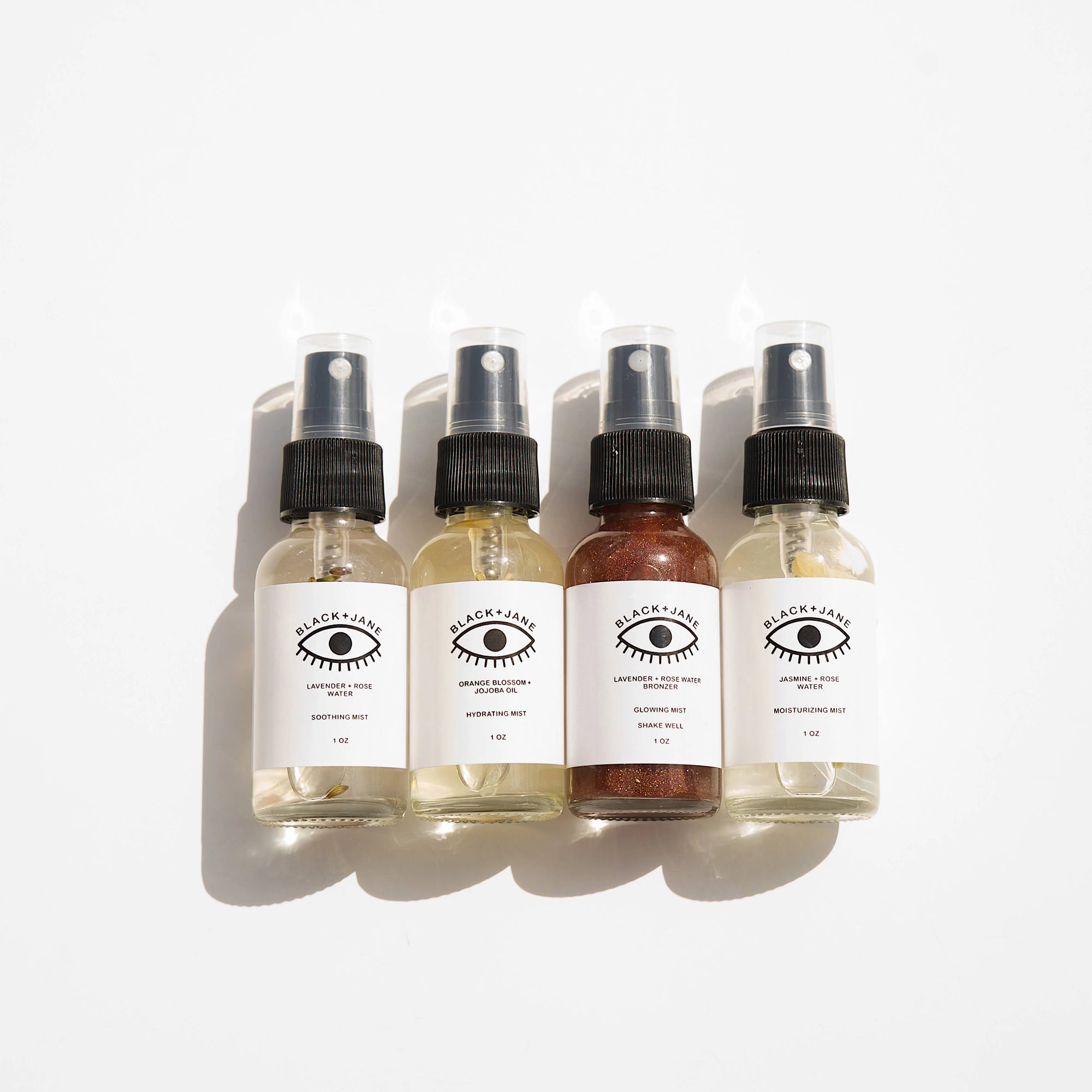 Black + Jane: Facial Toner Mist - 1oz, Orange Blossom + Jojoba Oil
