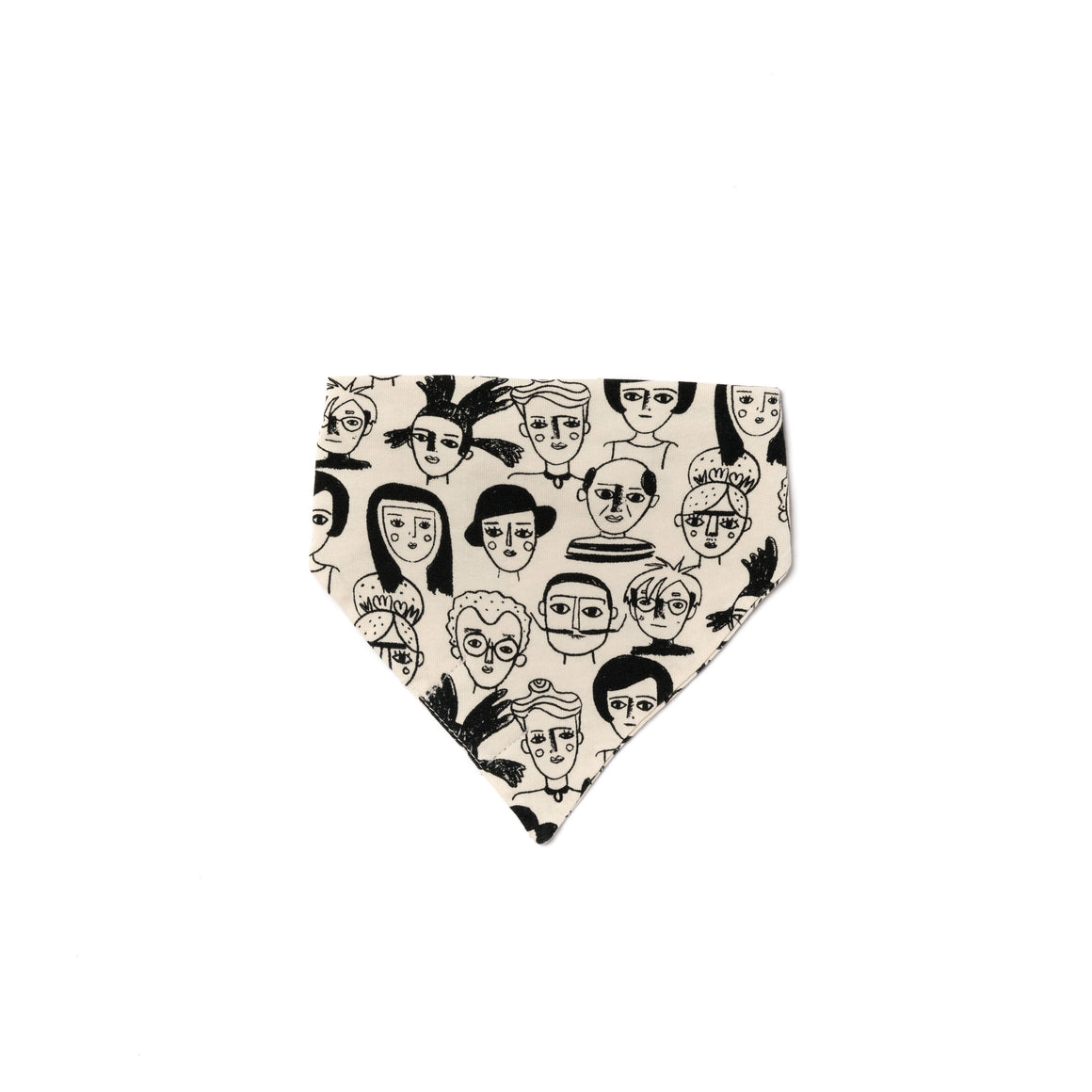 Artists Print Bandana Bib, Natural