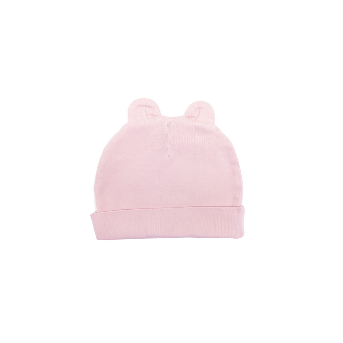 Beanie with Ears, Light Pink