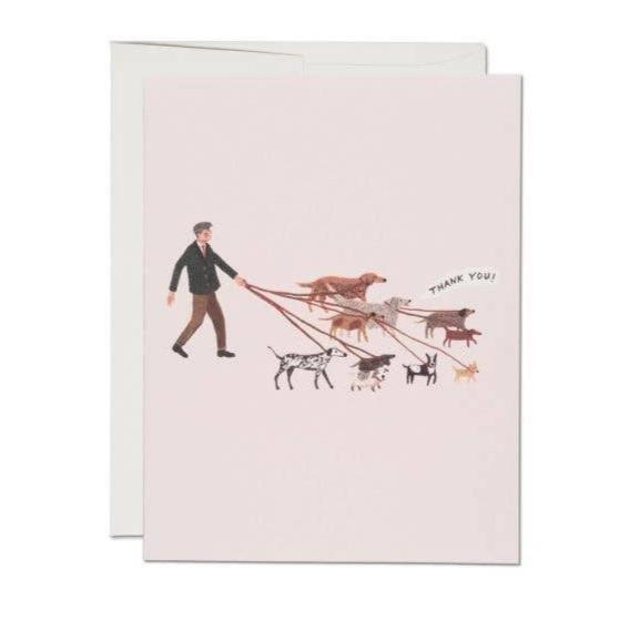 Red Cap Cards: Dog Walker